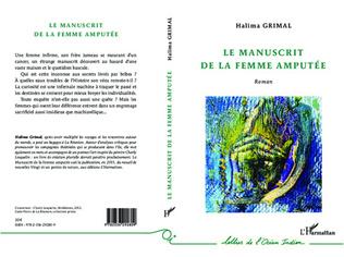 Couverture Le manuscrit de la femme amputée