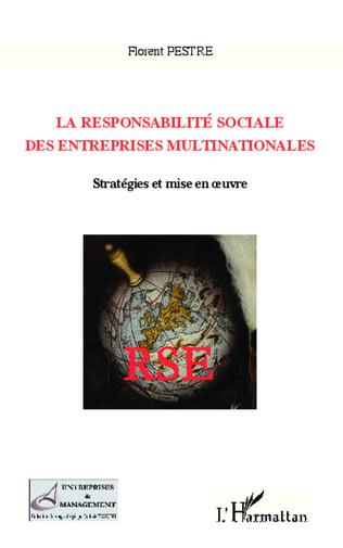 Couverture La responsabilité sociale des entreprises multinationales
