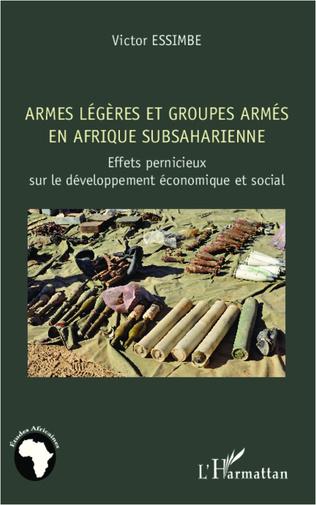 Couverture Armes légères et groupes armés en Afrique subsaharienne