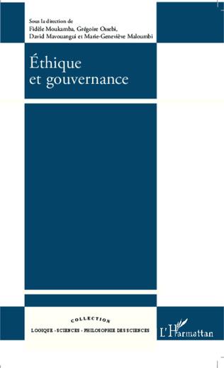 Couverture Ethique et gouvernance
