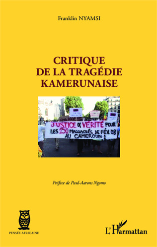 Couverture Critique de la tragédie kamerunaise