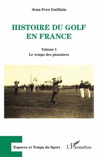 Couverture Histoire du golf en France