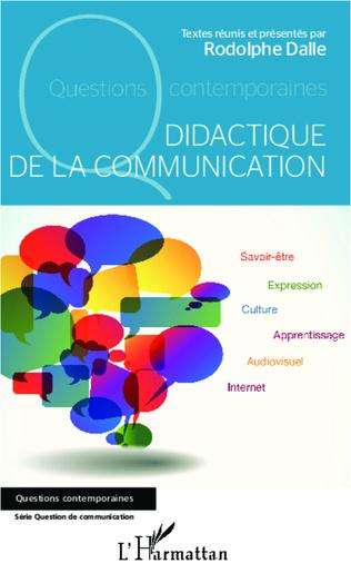 Couverture Didactique de la communication