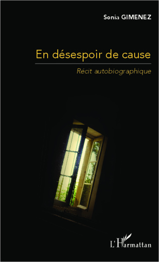 Couverture En désespoir de cause