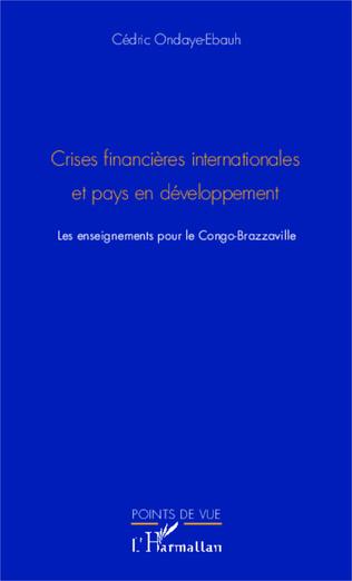 Couverture Crises financières internationale et pays en développement