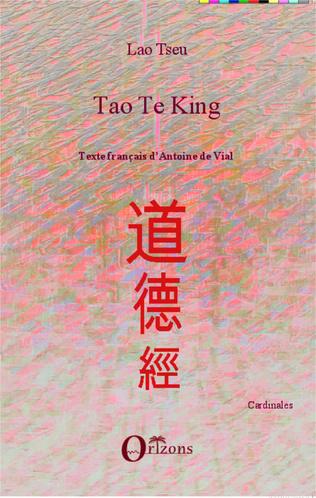 Couverture Tao Te King