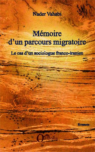 Couverture Mémoire d'un parcours migratoire