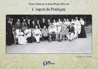 Couverture L'esprit de Pontigny