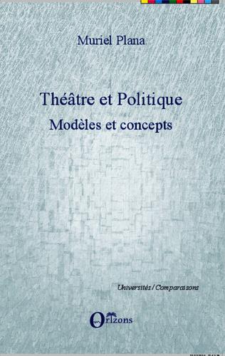 Couverture Théâtre et politique