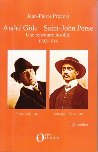 Couverture André Gide - Saint-John Perse