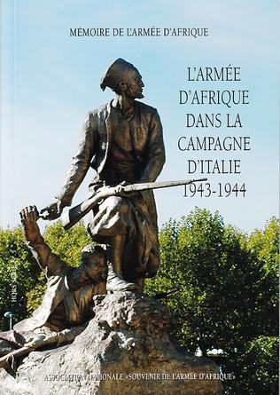 Couverture L'Armée d'Afrique dans la campagne d'Italie 1943-1944