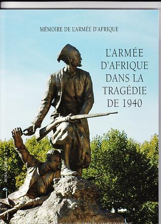 Couverture L'Armée d'Afrique dans la tragédie de 1940