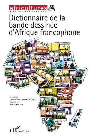 Couverture Dictionnaire de la bande dessinée d'Afrique francophone