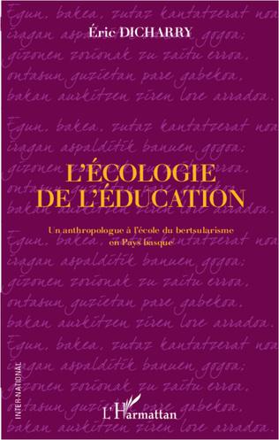 Couverture L'écologie de l'éducation