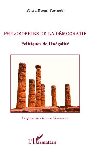 Couverture Philosophies de la démocratie