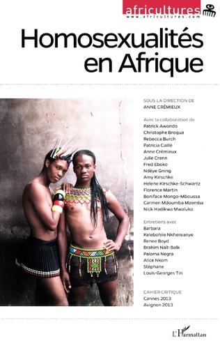 Couverture Homosexualités en Afrique