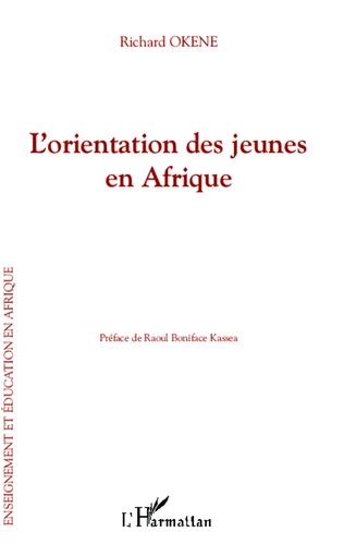 Couverture L'orientation des jeunes en Afrique