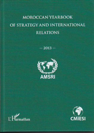 Couverture Moroccan yearbook of strategy and international relations (2013)