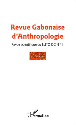 Couverture Revue Gabonaise d'Anthropologie