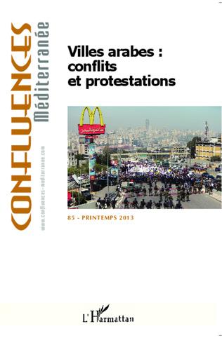 Couverture Villes arabes : conflits et protestations