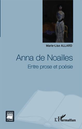 Couverture Anna de Noailles