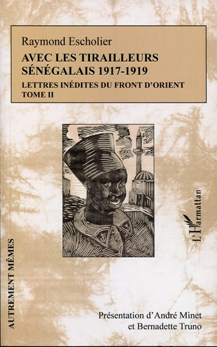 Couverture Avec les tirailleurs sénégélais 1917-1919 - Tome 2