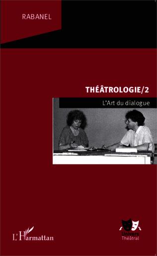 Couverture Théâtrologie/2