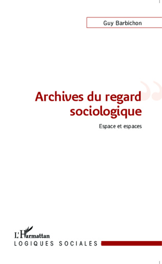 Couverture Archives du regard sociologique