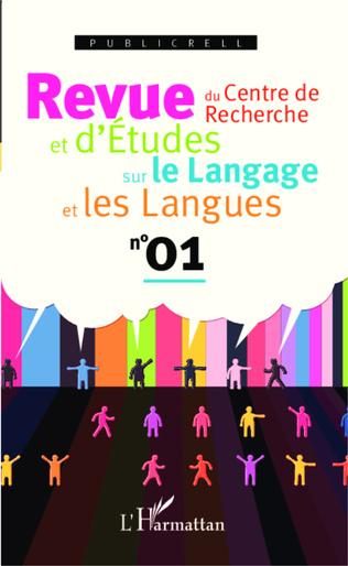 Couverture Revue du Centre de Recherche et d'Etudes sur le Langage et les Langues