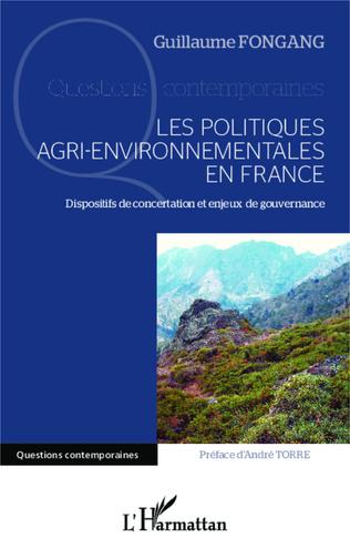 Couverture Les politiques agri-environnementales en France