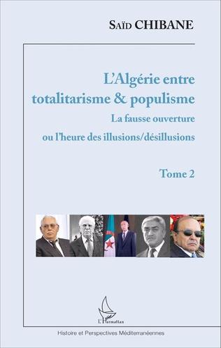 Couverture L'Algérie entre totalitarisme & populisme