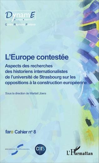 Couverture L'Europe contestée