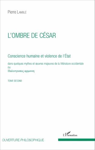 Couverture L'ombre de César (Tome 2)