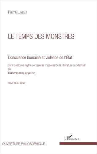 Couverture Le temps des monstres (Tome 4)