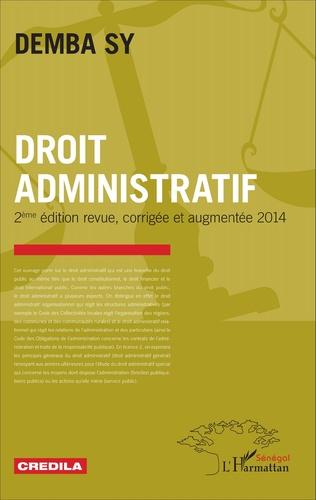 Couverture Droit administratif