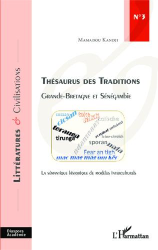 Couverture Thésaurus des Traditions