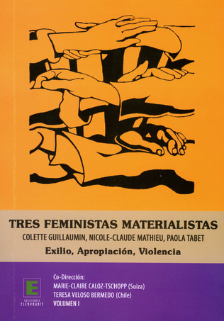 Couverture Tres feministas Materialistas (Volumen I)