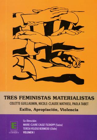 Couverture Tres feministas Materialistas (Volumen I)