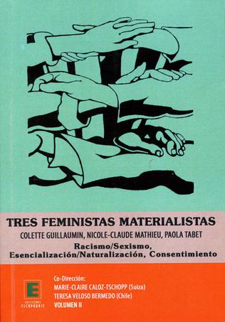 Couverture Tres feministas Materialistas (Volume II)