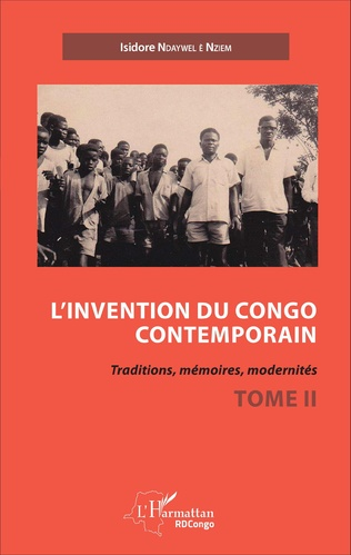 Couverture L'invention du Congo contemporain