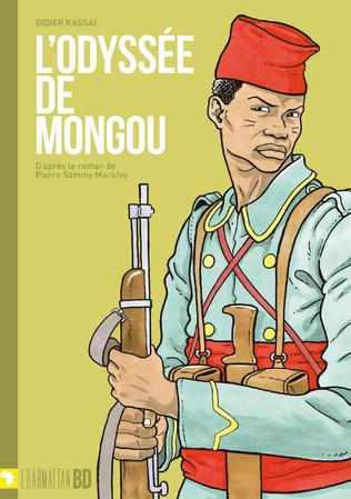 Couverture L'odyssée de Mongou