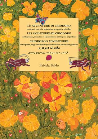 Couverture Les aventures di criodoro, Orthoptères, insectes et lépidoptères entre prés et jardins