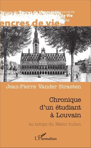 Couverture Chronique d'un étudiant à Louvain