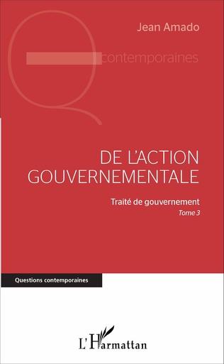 Couverture De l'action gouvernementale