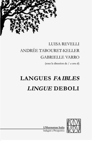 Couverture Langues faibles
