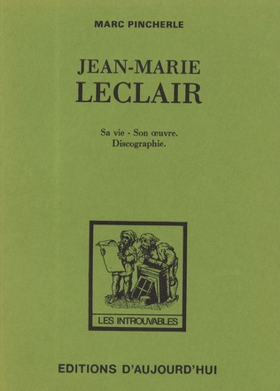 Couverture Jean-Marie Leclair