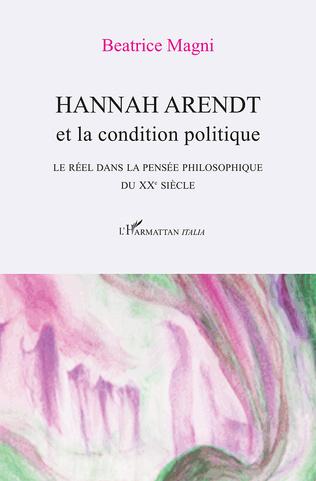 Couverture Hannah Arendt et la condition politique
