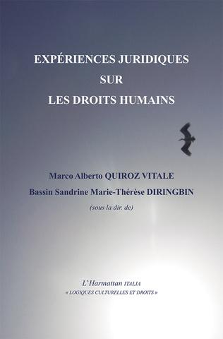 Couverture Expériences juridiques sur les droits humains