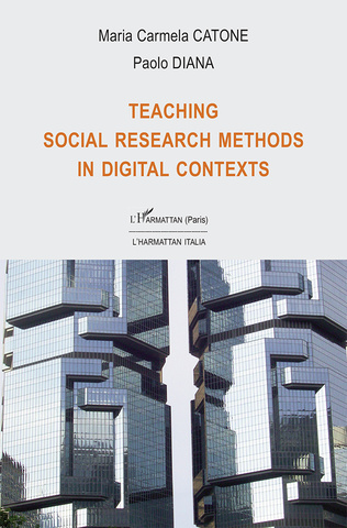 Couverture Teaching social research methods in digital contexts