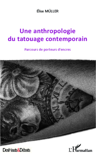Couverture Une anthropologie du tatouage contemporain